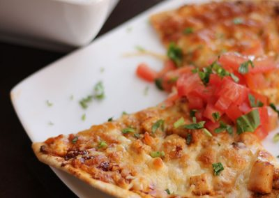 BBQ-Chicken-Pizza-with-Tomato-Soup