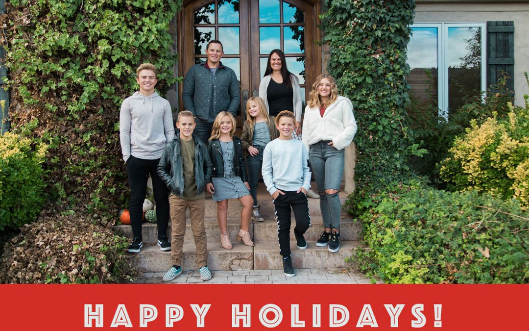 Happy Holidays from the Kelsch Family!