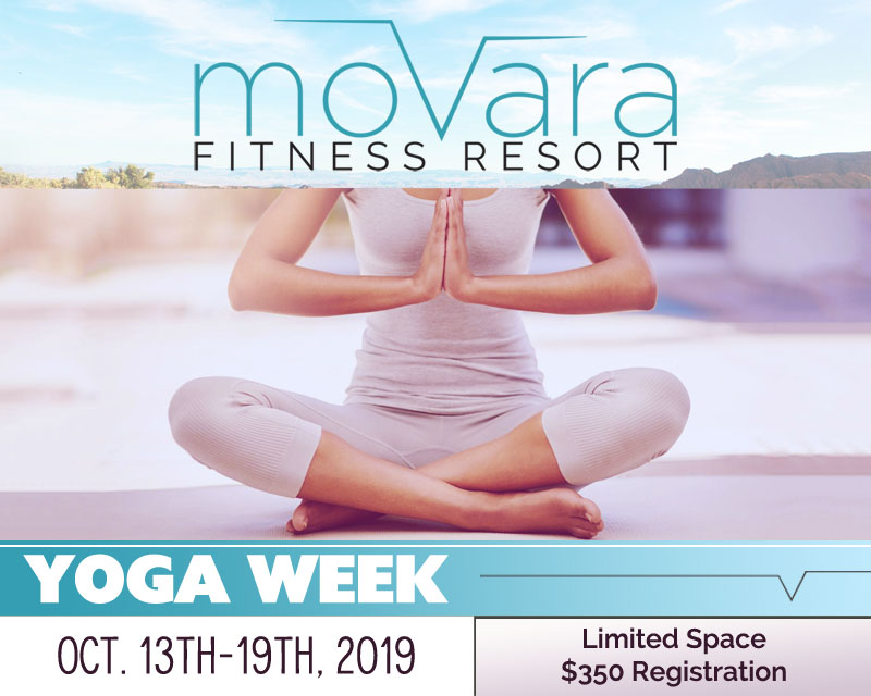 YOGA WEEK! Oct. 13th-19th, 2019